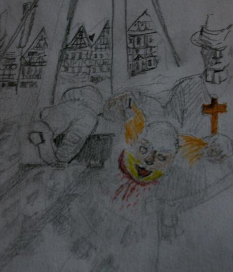 beheaded clown