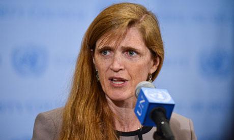 Samantha Power, US ambassador to the United Nations