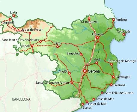 Sant Feliu map - 1