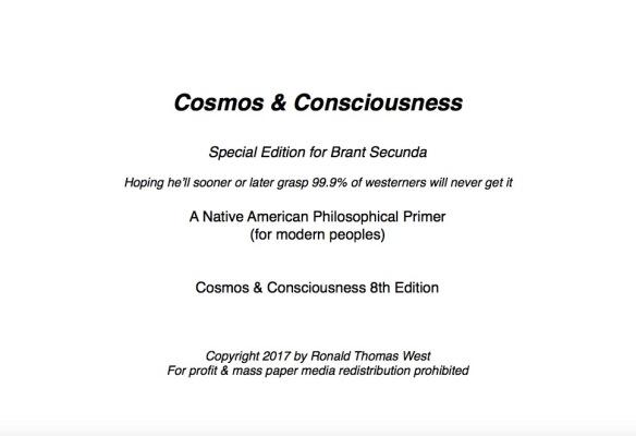 Confession of a Sham-man   Ronald Thomas West