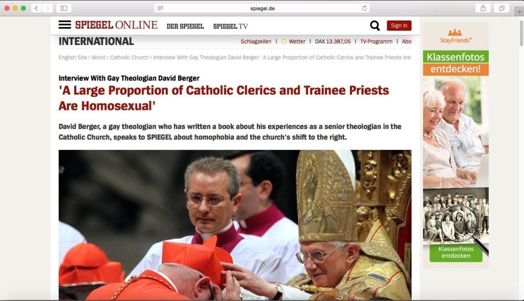 Self-supressed Catholic priests - 1